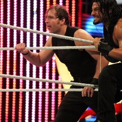 Shield Dean Ambrose Roman Reigns 07042014