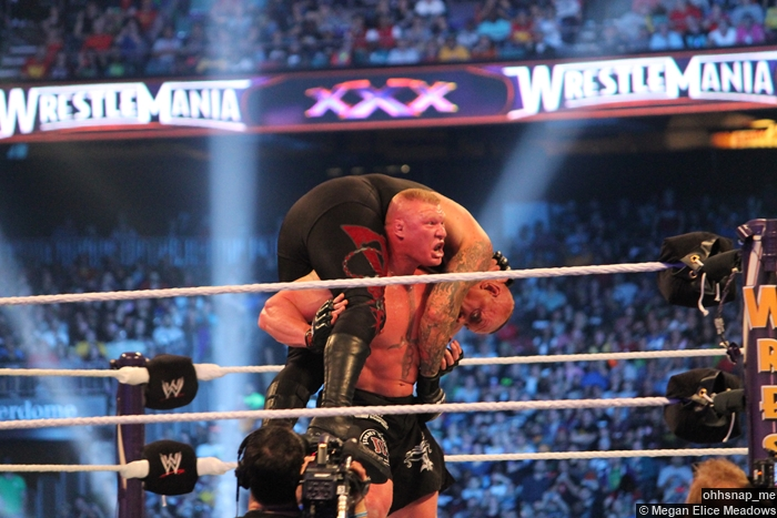 Undertaker Brock Lesnar 12 Wrestlemania 30
