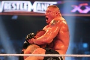 Undertaker Brock Lesnar 14 Wrestlemania 30