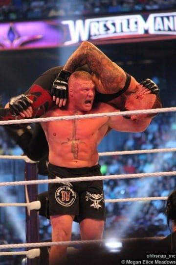 Undertaker Brock Lesnar 17 Wrestlemania 30