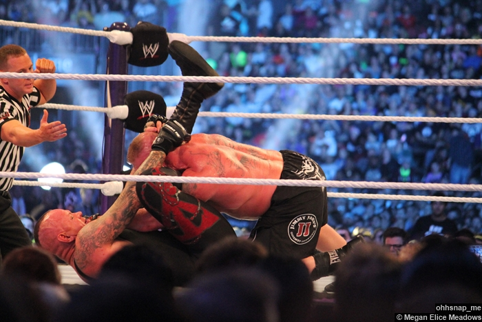 Undertaker Brock Lesnar Submission Wrestlemania 30