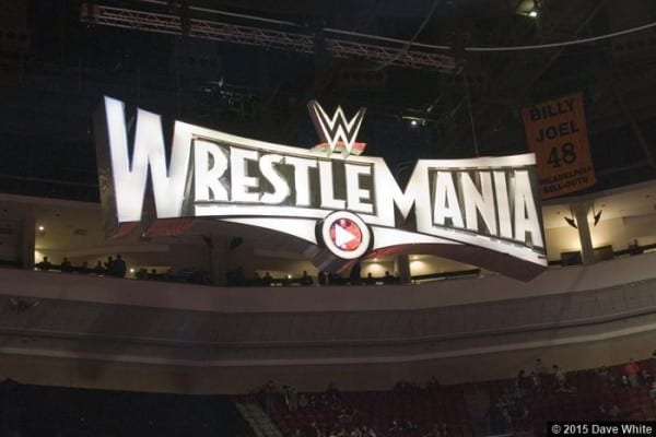 Wrestlemania 31 Sign Logo