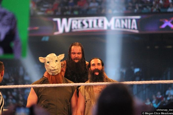 Wyatt Family Erick Rowan Luke Harper Wrestlemania 30