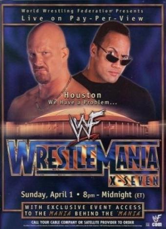 WWE WrestleMania X-Seven Poster