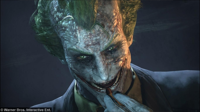 Batman Arkham City Joker