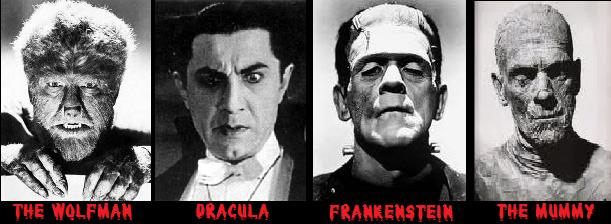 Image result for classic horror characters