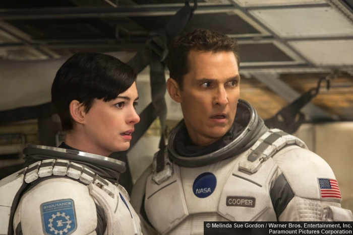 Matthew Mcconaughey Anne Hathaway Interstellar