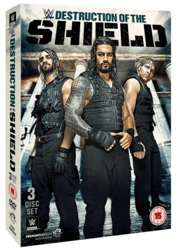 Shield Dvd Set