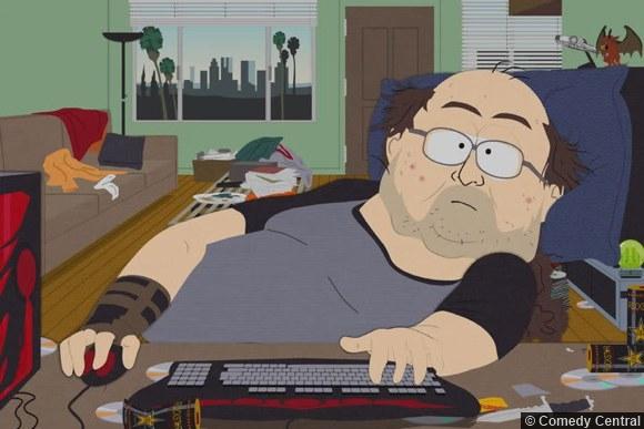 Southpark Keyboard Nerd Warrior