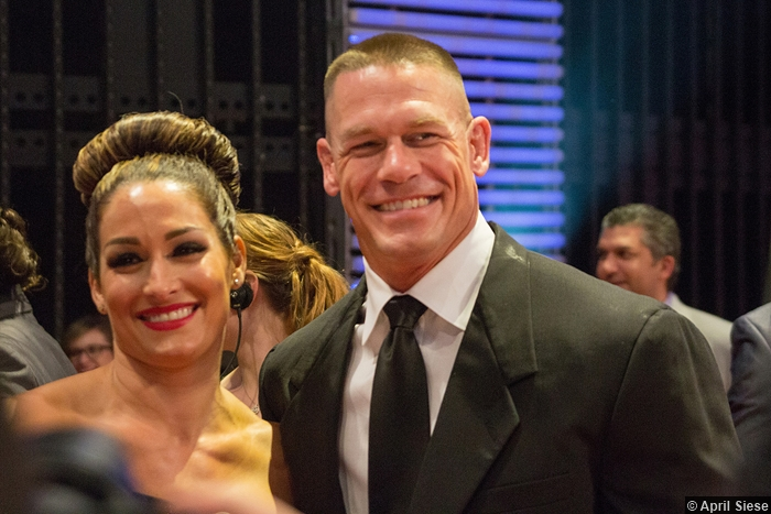 Hall Of Fame 2015 Nikki Bella John Cena 2