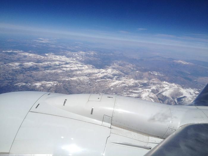 The long flight from Arkansas to San Francisco