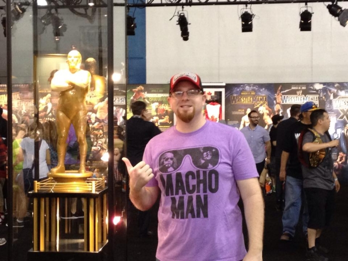 The trophy BEFORE Big Show's stupid name got slapped on it