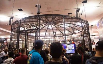 Wrestlemania 31 Axxess Elimination Chamber