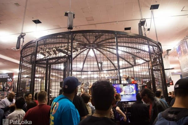 Wrestlemania 31 Axxess Elimination Chamber