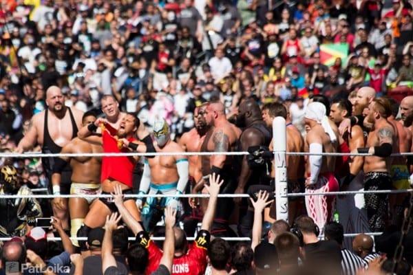 Wrestlemania 31 Battle Royal Curtis Axel