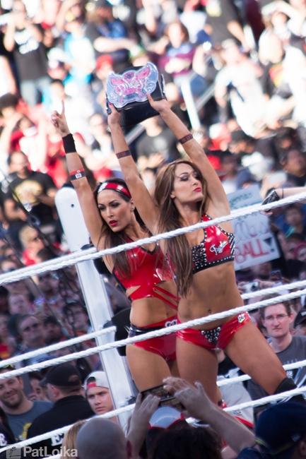 Wrestlemania 31 Bellas