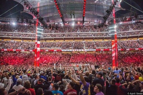 Wrestlemania 31 Crowd