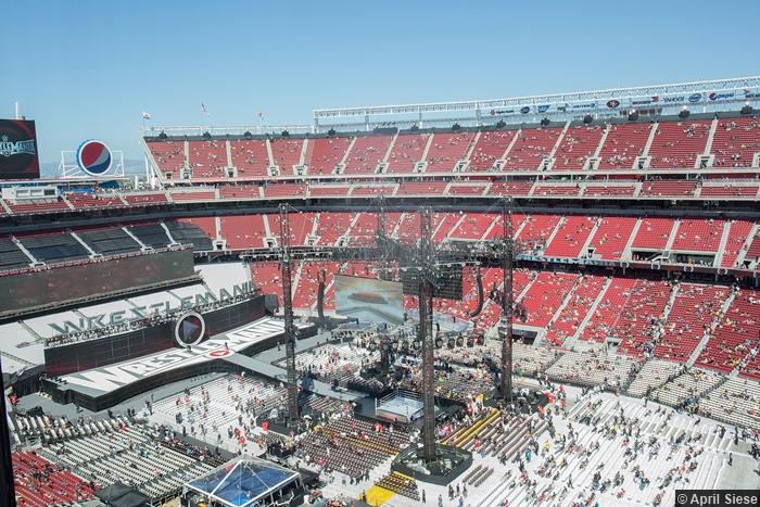 Wrestlemania 31 Crowd Levis Stadium
