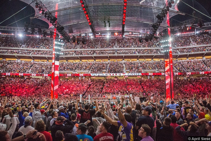 Wrestlemania 31 Crowd