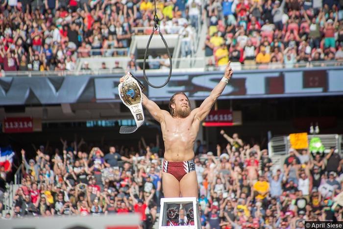 Wrestlemania 31 Daniel Bryan Intercontinental Title Belt1