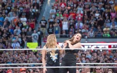 Wrestlemania 31 Ronda Rousey Stephanie Mcmahon Arm