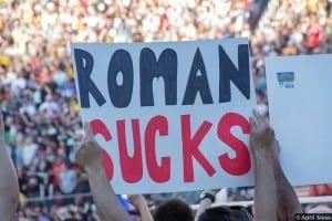 Wrestlemania 31 Sign Roman Reigns 2