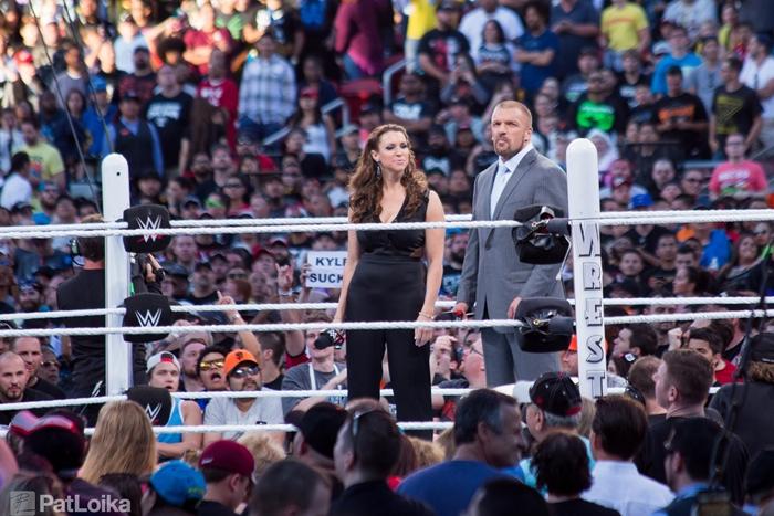 Wrestlemania 31 Stephanie Mcmahon Triple H