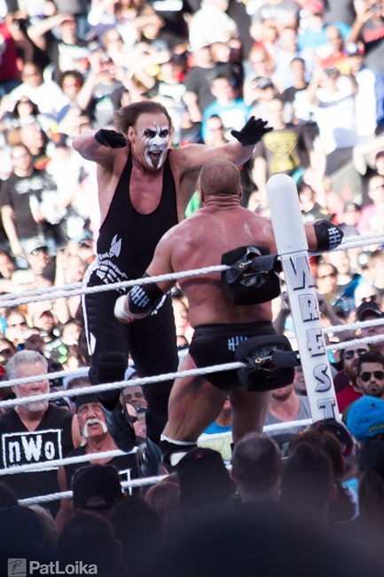 Wrestlemania 31 Sting Splash Triple H