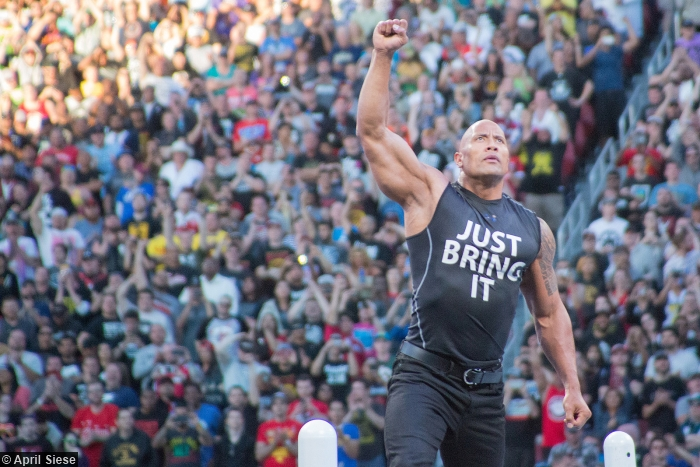 Wrestlemania 31 The Rock