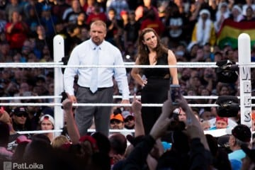 Wrestlemania 31 Triple H Stephanie Mchaon