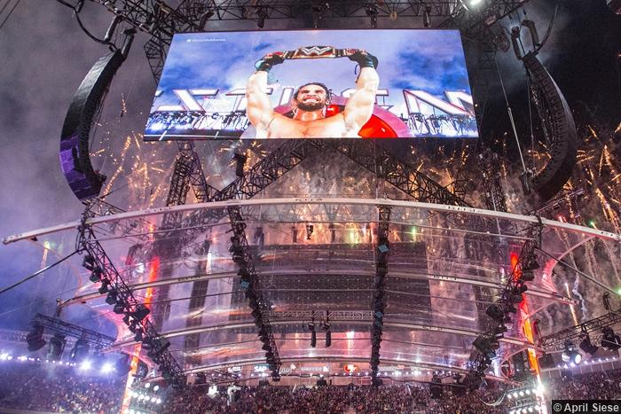 Wrestlemania 31 Tron Seth Rollins Win
