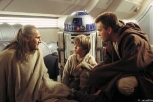 Star Wars Obi Wan Kenobi Qui Gon Jinn R2 D2 Anakin Skywalker