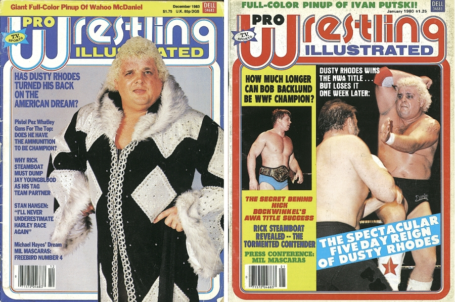 Dusty Rhodes Magazine Covers