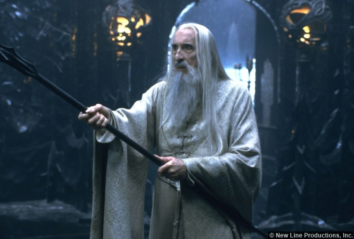 Lord Of The Rings Saruman Christopher Lee