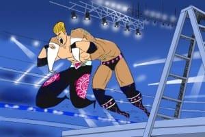Wwe Wrestlemania 25 Money In The Bank Christian Cm Punk 1