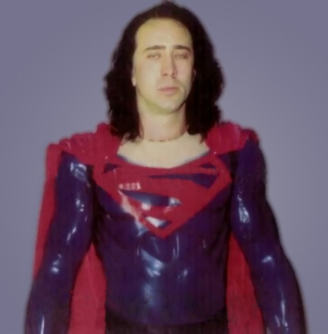 Nicolas Cage Superman