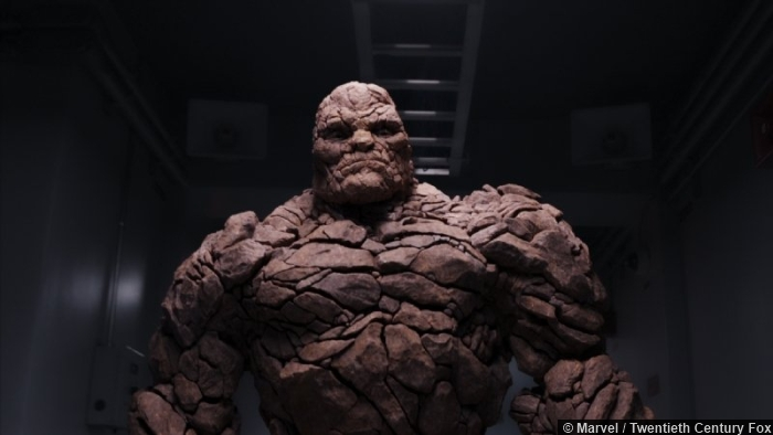 Fantastic Four The Thing Jamie Bell