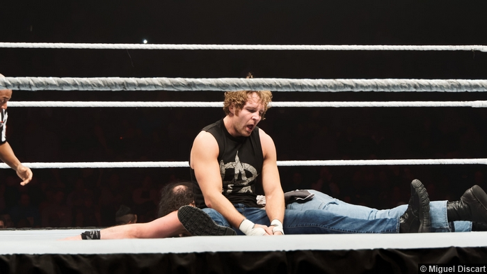 Dean Ambrose Tired 17042015