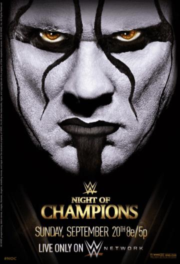 Wwe Night Of Champions 2015 Poster
