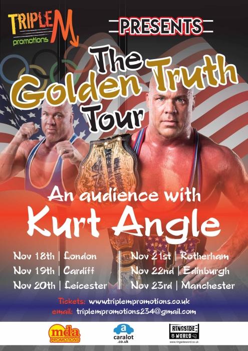 Kurt Angle Golden Truth Poster