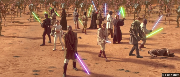 Star Wars Attack Clones Jedi Battle