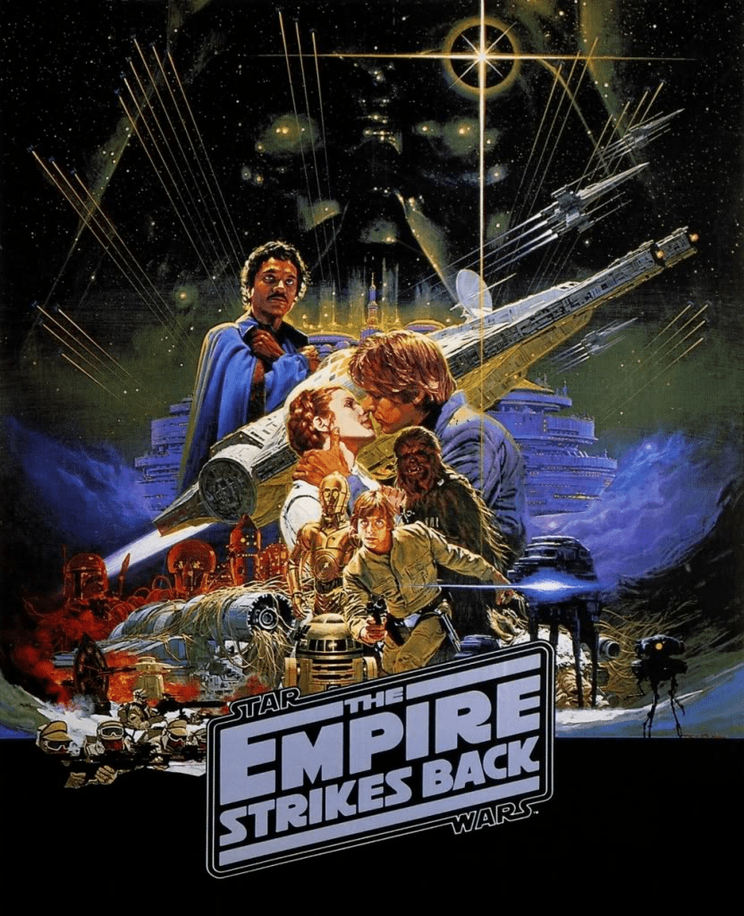 Star Wars Empire Strikes Back Poster 2