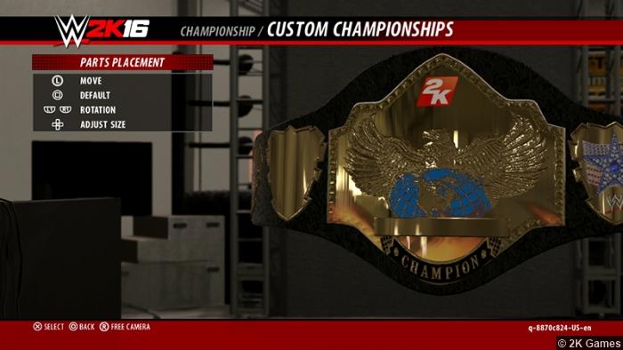 Wwe 2k16 Championship