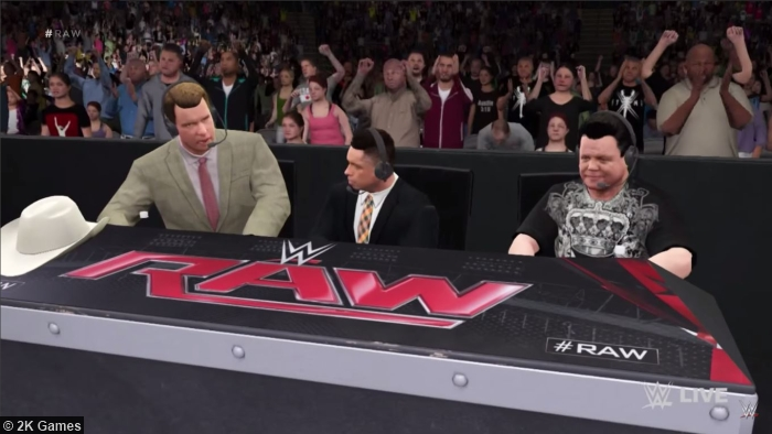 Image result for wwe 2k commentary