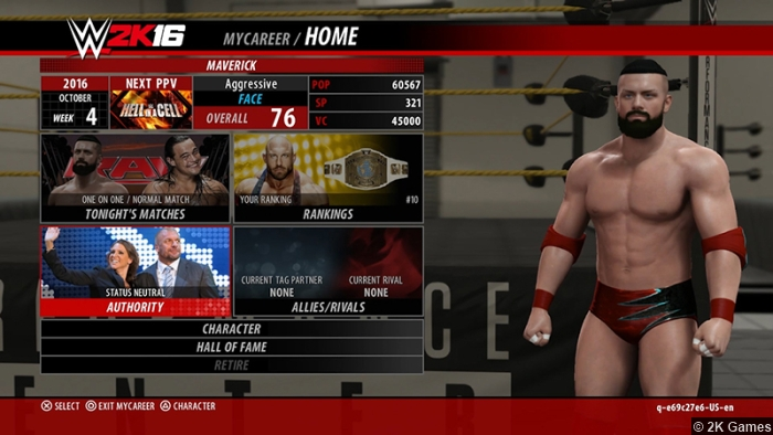 Wwe 2k16 My Career
