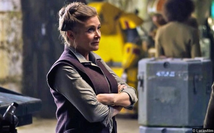 Star Wars Awakens Carrie Fisher Princess Leia