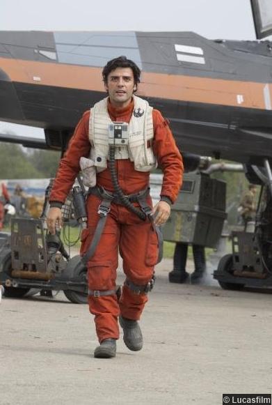 Star Wars Awakens Oscar Isaac Poe Dameron