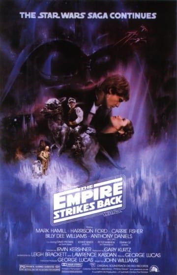 Star Wars Empire Strikes Back Poster