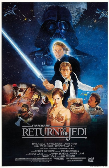 Star Wars Return Jedi Poster