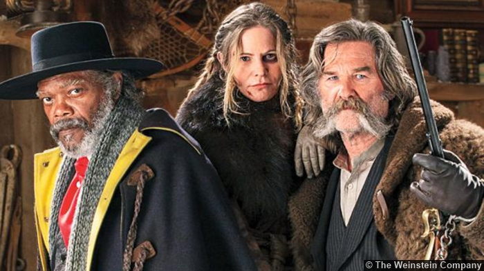 Hateful Eight Samuel Jackson Jennifer Jason Leigh Kurt Russell